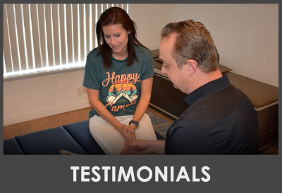 Chiropractor Lehi UT Dr. John Thayn With Patient